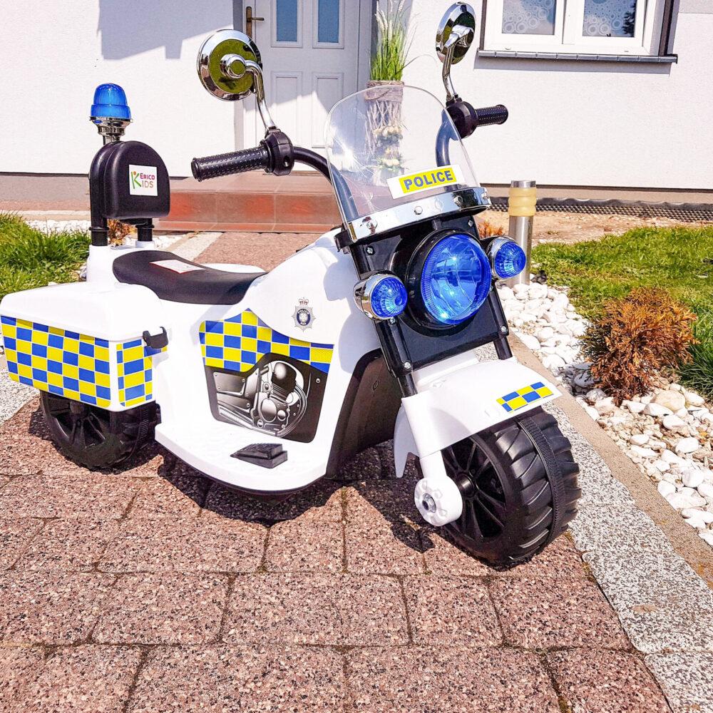Polizeimotorrad Chopper für Kinder 1-3 Jahre alt